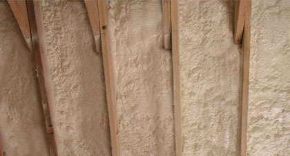 closed-cell spray foam for Clearwater applications