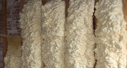 open-cell spray foam for Clearwater applications